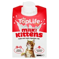 TopLife Kitten Milk Formula 200ml x 18