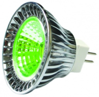 5WATT MR16 COB GREEN