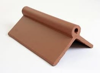 Dura Universal Clay Gable Ridge End Cap