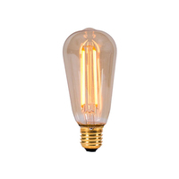 Bell 4W LED ES Vintage Squirrel Amber
