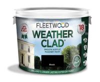 Fleetwood Weather Clad Black 10Ltr