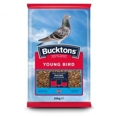 Bucktons Young Bird Pigeon Feed 20kg