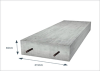 "Concrete Lintel 215 x 65mm x 1070mm  (9x3"" x 3ft 6inch)"