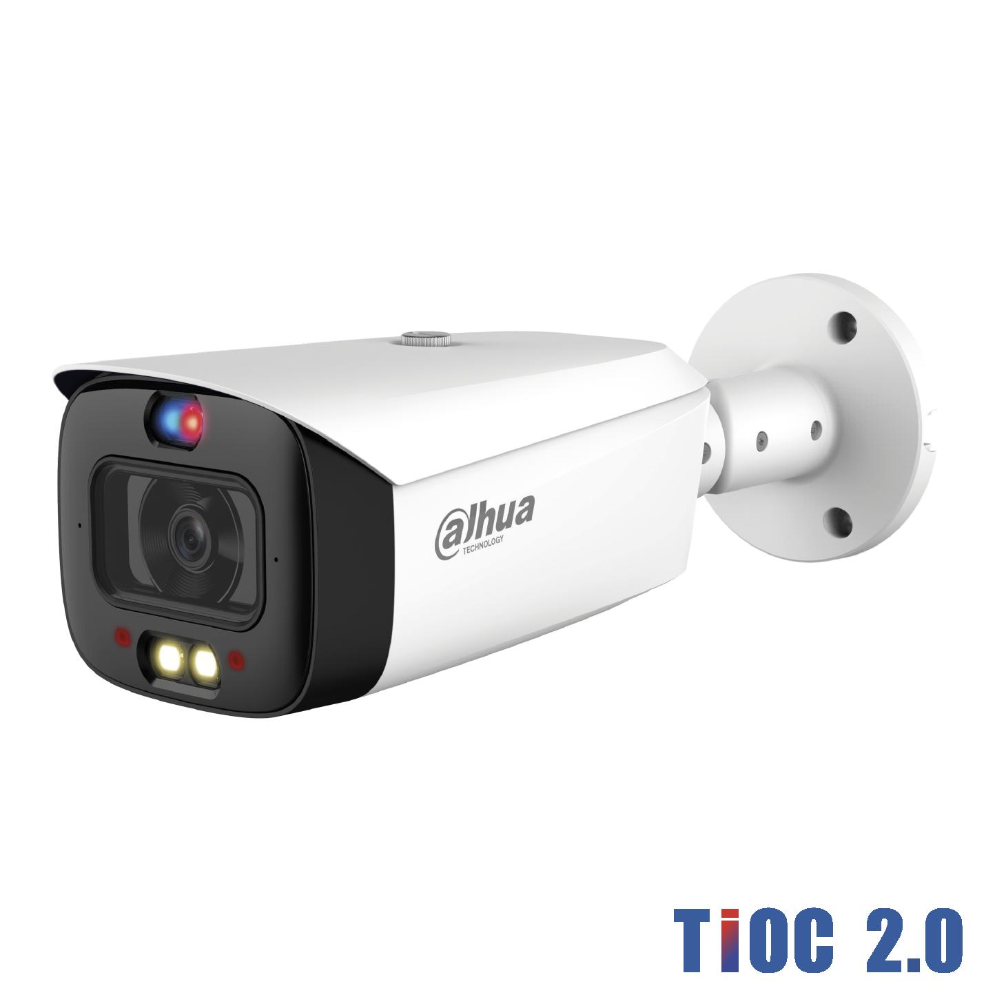Dahua IP 8MP TiOC 2.0 IR & LED Bullet 3.6mm Dual Illumination 30mtr