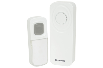 Wireless Waterproof Doorbell - White