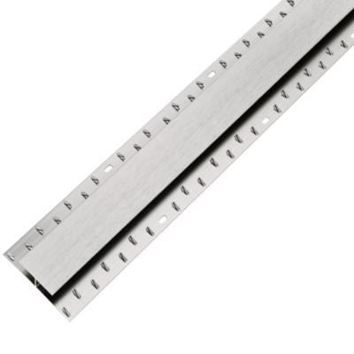 Dual Edge Brushed Steel Nickel