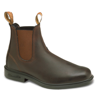 Blundstone Stout Brown Dealer Boot, Chisel Toe