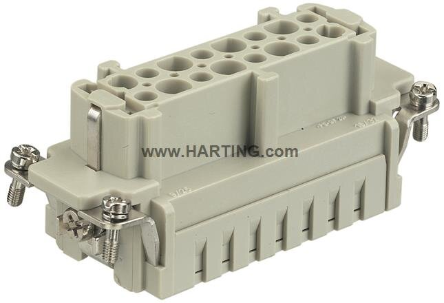 32+ Earth Female Connector Crimp Terminal 1-16 Size 32B (Current Rating  500V  16A)
