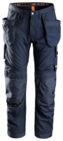 "SNICKERS 6201 ALLROUND WORK HOLSTER POCKET TROUSERS 150 NAVY (W35"" X L35"")"