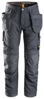 Snickers 6201 Steel Grey AllWorkWear Trousers