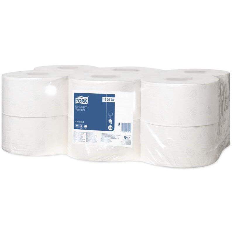 TORK 120238 Mini Jumbo Toilet Roll