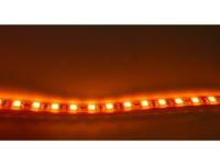 5 METRE PACK 24V LED TAPE 4.8W 60 LED PER METER IP67 AMBER