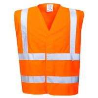 Portwest Bizflame Antistatic Vest Hi-Vis Orange
