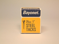 Bayonet Blued Tacks 25mm 40g - 10210