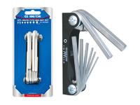 KING TONY Hex Key Set 8 Piece Pocket Knife Type  20218MR