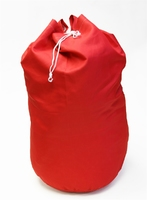 Red Polyester Laundry Bag