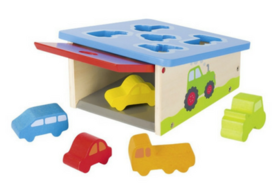 Sorting and Stacking Wooden Toy