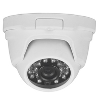 Triax Fixed Lens 720p TVI Dome - White