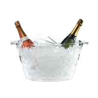 Oval Nite Club  Bottle Cooler 42 x 28 x 23cm