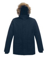 TRA382 Regatta Ice Storm Winter Parka Jacket Navy