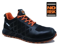 'NO RISK' SOOTH  BLACK S3 SRC HRO ESD NON METALLIC SAFETY RUNNER