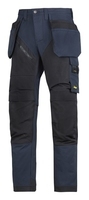 Snickers Navy/Black New Ruffwork Trousers