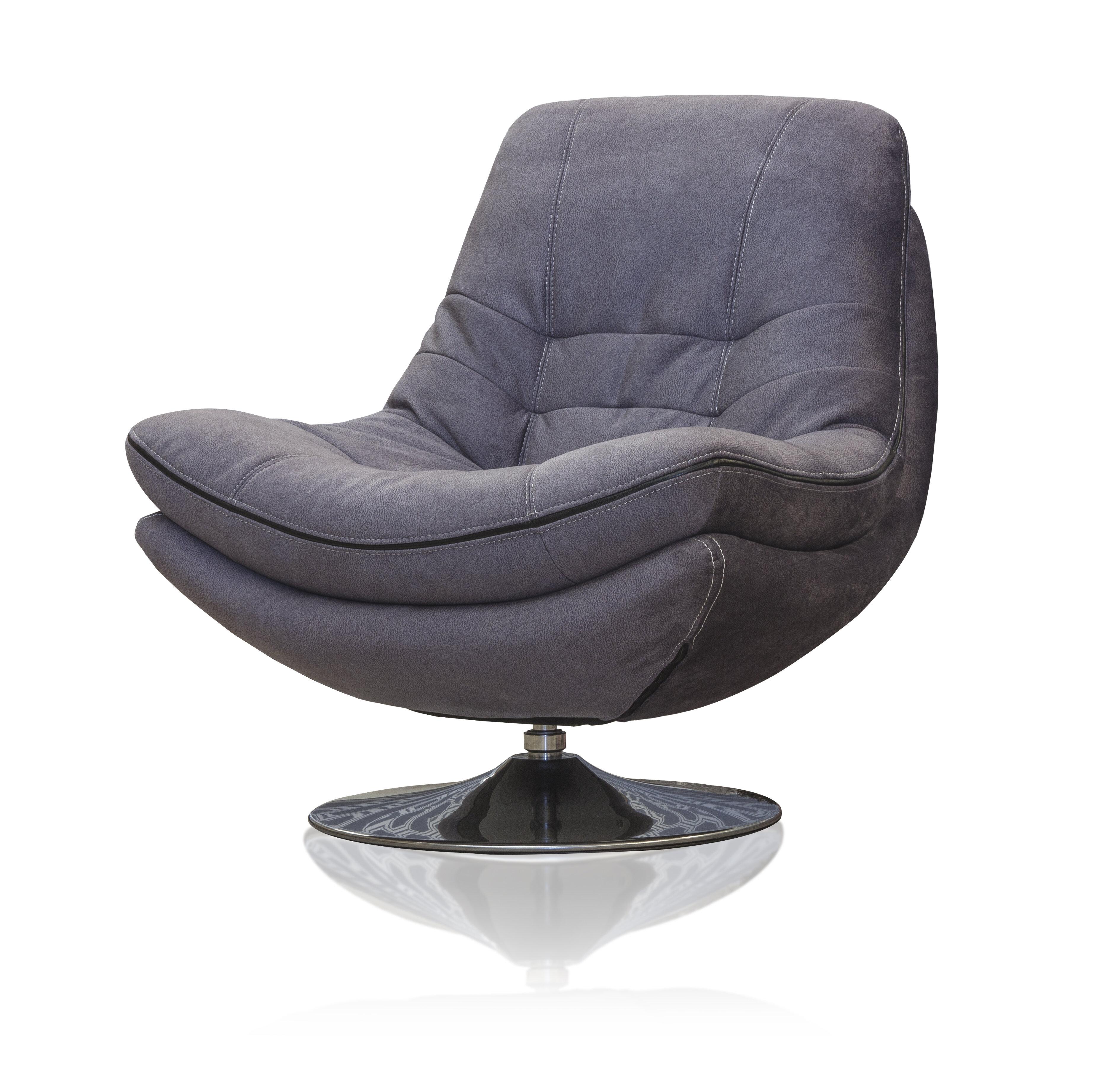 Emilio Fabric Sofa - Dark Grey 3