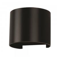 6W Wall Light 3000K Black