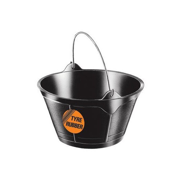 Red Gorilla Rubber Feed Bucket 10L