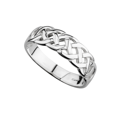 STERLING SILVER CELTIC WOVEN RING