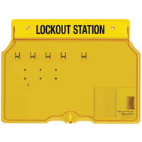 Master Lock 4-lock padlock station, unfilled