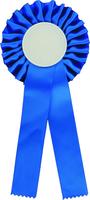 25cm Rosette with D50mm Recess (Blue)