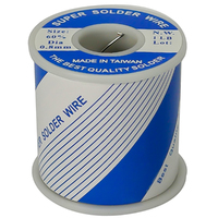 SOLDER WIRE | 60/40 ROSIN CORE 0.8mm - 1LB