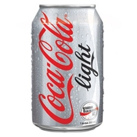 Can Coke Light-(24x330ml) Imported