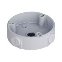 IC Realtime White - Round Junction Base for Small Dome Cameras