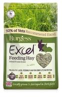 Burgess Excel Long Stem Feeding Hay 1kg x 1 [Zero VAT]