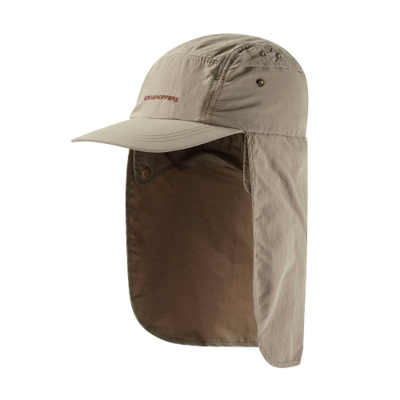 Craghoppers Nosilife Desert Hat in Pebble