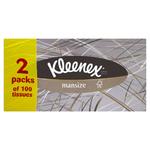 Kleenex Mansize Tissues Twin Pack x10
