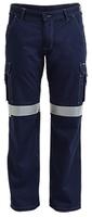 Bisley Men's Lightweight Cotton 3M Taped Cargo Pant 190gsm