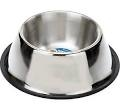 Classic Stainless Steel Spaniel Bowl x 1