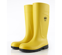 BEKINA Steplite PU Wellington Yellow S5 CI SRC