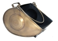 Home Collection Antique Brass Effect Coal Bucket