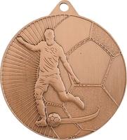 45mm Soccer Player Medal (Bronze)