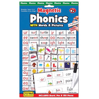 Magnetic Phonics activity set - front of packaging