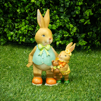 Koop Bunny Parent with Child - 22cm
