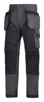 Snickers Steel Grey/Black New Ruffwork Trousers