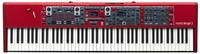 Red keyboard from Nord