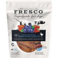 Fresco Superfoods Dog Treats Chicken Blueberry & Cranberry 100g x 1