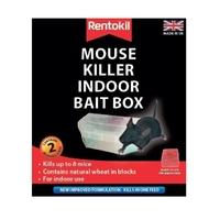 Rentokil Mouse Killer Indoor Bait Box - Twin