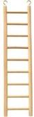 "Beaks Wooden Ladder 14¾"" - 9 Step x 1"